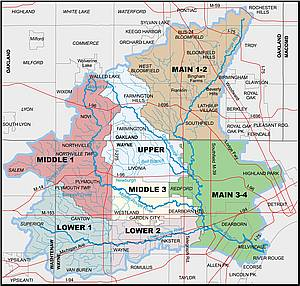 Rouge River watershed